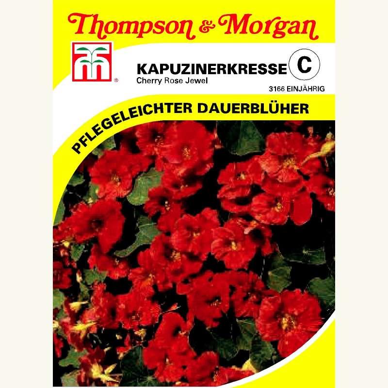 samen saatgut kapuzinerkresse 39 cherry rose jewel 39 tropaeolum majus. Black Bedroom Furniture Sets. Home Design Ideas
