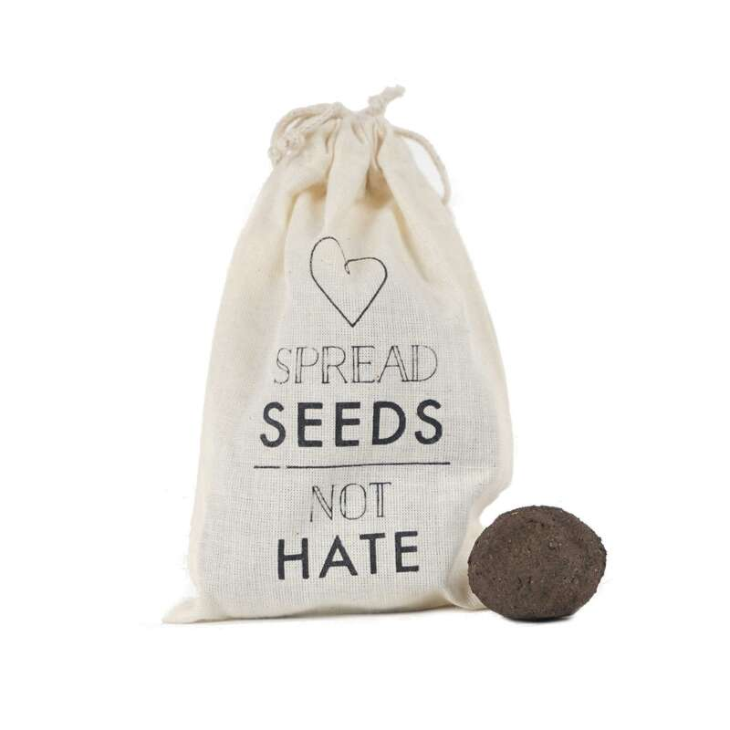 Seedballs Special Edition: Spread seed - not hate - Diverse species