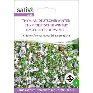 Thymian, Deutscher Winter  - Thymus vulgaris - BIOSAMEN