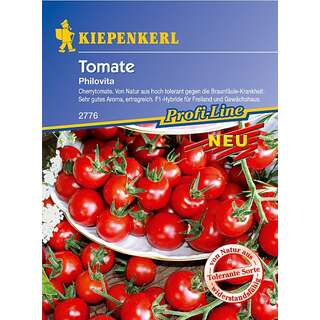 Tomate, Cherry-Tomate Philovita F1 - Lycopersicon...