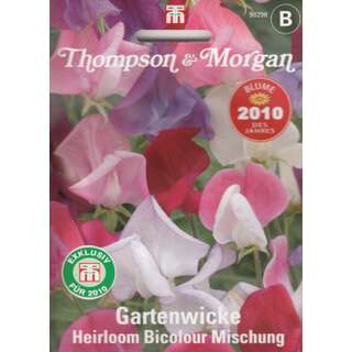 Wicke, Gartenwicke Heirloom Bicolour Mischung - Lathyrus...
