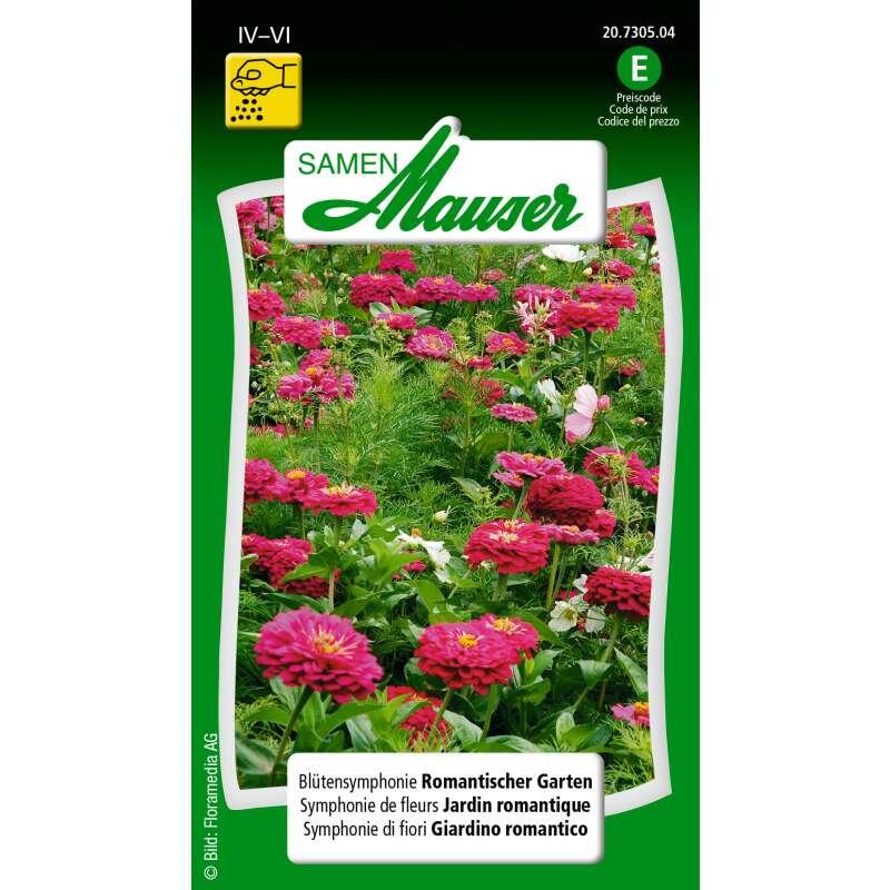Blumenmischung Romantischer Garten Samen Kaufen Saemereiench