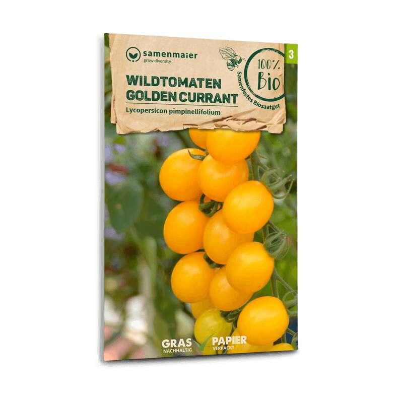 25 Samen Wildtomate orange