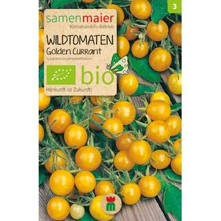 Tomate, Wildtomate Golden Currant - Lycopersicon...