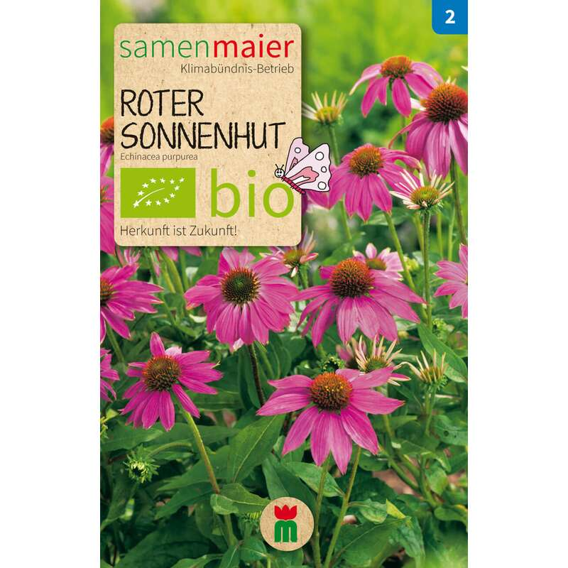 sonnenhut 39 roter 39 bio samen kaufen echinacea purpurea. Black Bedroom Furniture Sets. Home Design Ideas